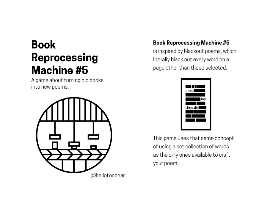 Book Reprocessing Machine 5 Cover and First Page